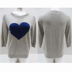 J.Crew sweater Medium Tippi Heart Me
